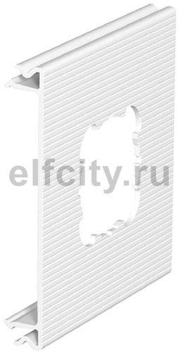 Приборная накладка для монтажа устройств 110x100 мм (ПВХ,черный)
