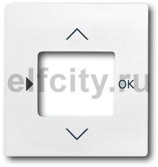 Плата центральная (накладка) для таймера 6455, 6456, серия impuls, цвет белый бархат