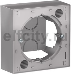 Коробка накладного монтажа, алюминий