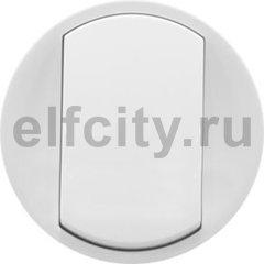 Legrand Celiane лицевая панель для одноклавишного выключателя-переключателя, цвет белый