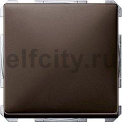 Выключатель одноклавишный, 10 А / 250 В, коричневый