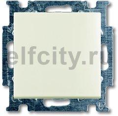 Выключатель одноклавишный, проходной (вкл/выкл с 2-х мест), 10 А / 250 В, шале-белый