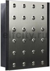 Zamel Звонок Bittorf двухтональный электромеханический, 220 В, серебро