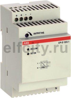 Блок питания CP-D 12/2.1 (регулир. вых. напряж) вход 90-265В AC / 120-370В DC, выход 12В DC /2.1A