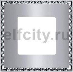Рамка 1 пост, cromo brillo