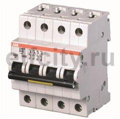 Автоматический выключатель 4P S204P K0.2