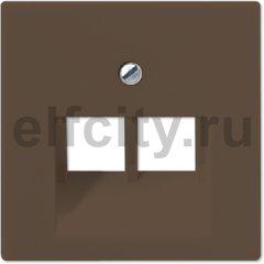 Крышка для модульных гнезд; мокка
