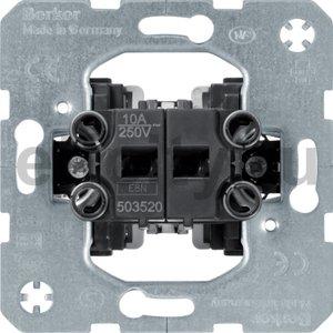 Жалюзийная двухклавишная кнопка Модульные механизмы