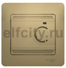 Термостат для электрического подогрева пола 230 В~ 8А , для электрического подогрева пола, титан