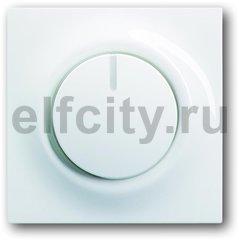 Диммер (светорегулятор) поворотный 60-600 Вт для ламп накаливания и галогенных 220В, пластик белый глянцевый