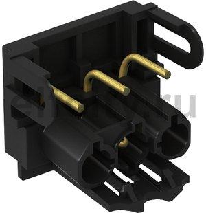Штекерный адаптер U-образный (черный)