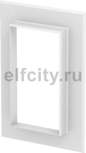 Настенная стыковая рамка кабельного канала Rapid 80 90x170 мм (ABS-пластик,белый)