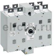 Перекидной выключатель-разъединитель DCX-M - 630 А - типоразмер 4 - 3П+Н - винтовые зажимы