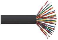 ITK Кабель связи витая пара F/UTP, кат.5E 25х2х24AWG solid, LDPE, 305м, черный