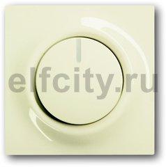 Диммер (светорегулятор) поворотный 60-600 Вт для ламп накаливания и галогенных 220В, пластик кремовый глянцевый
