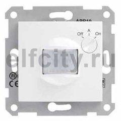 Автоматический выключатель 230 В~ , 40-350Вт, с регулированием минимальной освещенности и выдержкой срабатывания по времени, белый