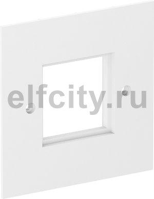 Накладка блока питания VH для монтажа устройств, 95x95 мм (белый)