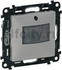 Автоматический выключатель с нейтраллю, 230 В~ , 0-50 Вт для светодиодных ламп, 0-400 Вт для ламп накаливания, алюминий