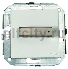 Выключатель поворотный для управления жалюзи, 10 А / 250 В, металлик / сталь