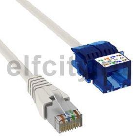 Соединительный кабель U/UTP 6 кат.неэкран. 15 м (серый)