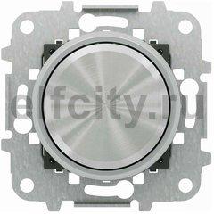 LED диммер (светорегулятор) ABB 2CLA866020A1401 поворотно-нажимной 2-100Вт для диммируемых светодиодных ламп , 230В (+-10%) 50Гц, хром