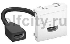 Мультимедийная рамка HDMI Modul45 (черный)