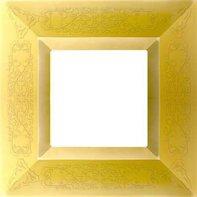 Рамка 1 пост, блестящее золото