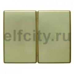 Клавиши цвет: золотой, металл Berker Arsys
