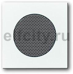 Плата центральная (накладка) для для громкоговорителя 8223 U, серия Basic 55, цвет альпийский белый