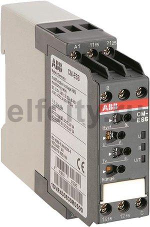 Однофазное реле контроля напряжения CM-ESS.M многофункц. (диапаз. изм. 3-30В, 6-60В, 30-300В, 60-600 AC/DC) питание 24-240В AC/DC,