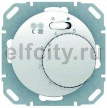 Термостат механический с выносным датчиком, для электрического подогрева пола 230 В~ 8А, полярная белизна