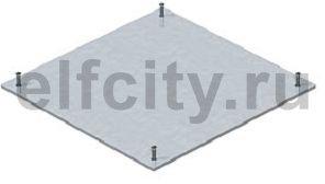Заглушка монтажного основания DU190 235x235x4 мм (сталь)