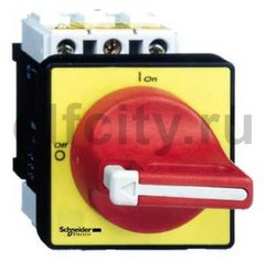 Выключатель-разъединитель главный/аварийный, для установки на дверце, 12A