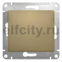 Выключатель одноклавишный, проходной (вкл/выкл с 2-х мест) 10 А / 250 В, титан
