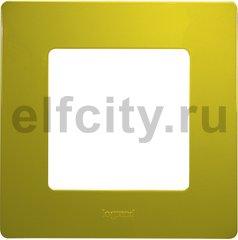 Рамка 1 пост, зеленый папоротник
