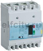 Автоматический выключатель DPX? 160 - термомагнитный расцепитель - 16 кА - 400 В~ - 4П - 16 А