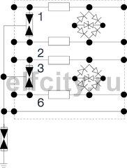 УЗИП для телекоммуникационных сетей 4-жилы