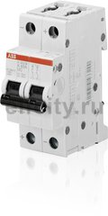 Автоматический выключатель 2P S202M K0,2UC