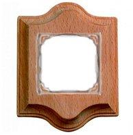 Рамка 1 пост, используется только для монтажа терморегулятора или датчика движения, сапелли