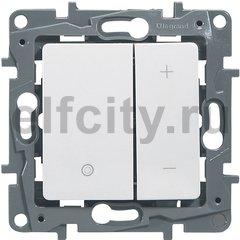 Светорегулятор нажимной - Etika - 400 Вт - белый