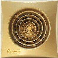 Вентилятор бесшумный Soler Palau SILENT-100 CZ GOLD