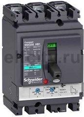 Автоматический выключатель 3П TM40D NSX100HB1 (75кА при 690B)