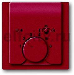 Термостат механический с выносным датчиком, для электрического подогрева пола 230 В~ 8А, ежевика