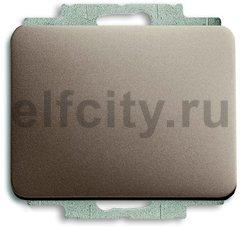 Выключатель одноклавишный, проходной (вкл/выкл с 2-х мест), 10 А / 250 В, палладий