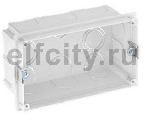 Монтажная коробка для скрытого монтажа на 2 Modul45 (129x77 мм)