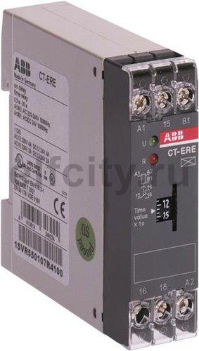 Реле времени CT-ERE (задержка на включ.) 110-130B AC (временной диапазон 0.3...30с) 1ПК