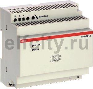 Блок питания CP-D 24/4.2 (регулир. вых. напряж) вход 90-265В AC / 120-370В DC, выход 24В DC /4.2A