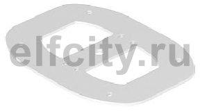 Напольная пластина для электромонтажной колонны (сталь,серебристо-белый)