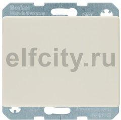 Выключатель одноклавишный, 10 А / 250 В, пластик кремовый (белый с блеском)