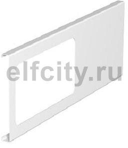 Приборная накладка для монтажа устройств 110x300 мм (сталь,белый)